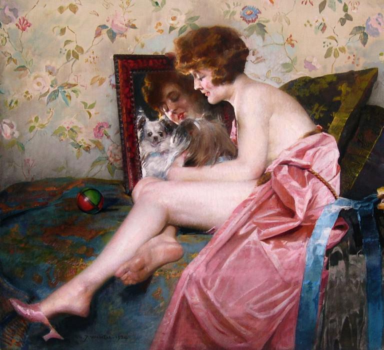 Charles WATELET - Looking at the mirror. European art; part 1