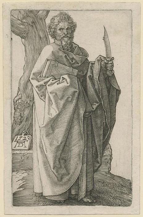 Albrecht Dürer Der Apostel Bartholomäus – Saint Bartholomew 1523 122370 1124. European art; part 1