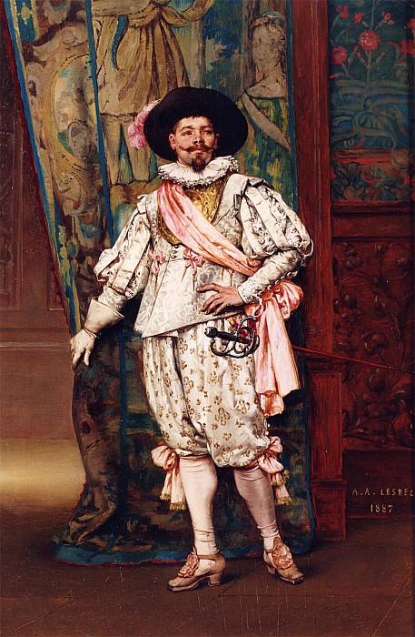 Adolphe Alexandre Lesrel The Cavalier 12143 2426. European art; part 1