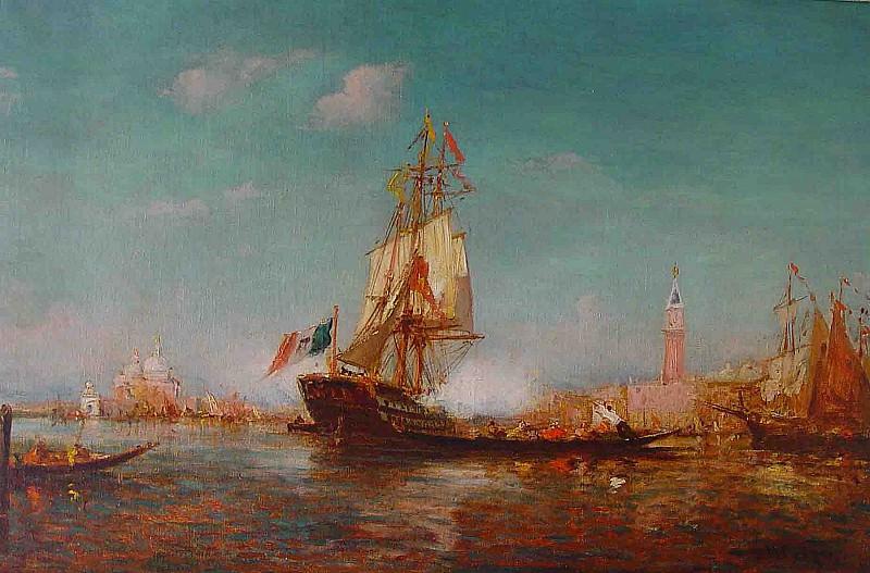 Charles Malfroy Venice 37029 3306. Европейская живопись; часть 1