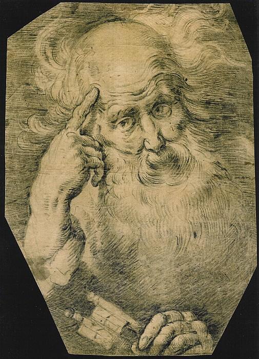 BERNARDO STROZZI Study of St Peter 11396 172. European art; part 1