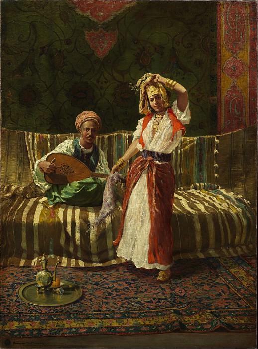 Addison T Millar Arab Dancing Girl 43159 3606. European art; part 1