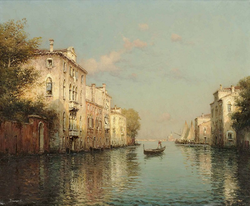 Antoine Bouvard Venice. European art; part 1