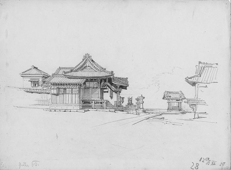 Albert Berg Temple O Yawuts 1860 120769 1124. European art; part 1