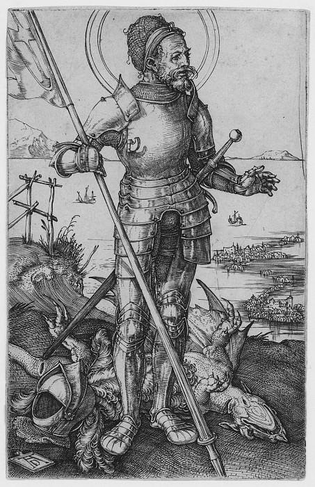 Albrecht DГјrer Saint George on Foot 29966 1124. European art; part 1