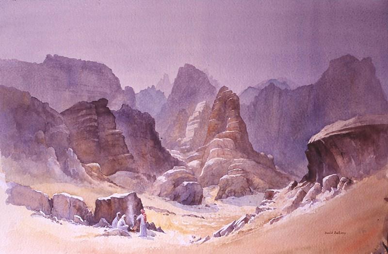 David Bellamy Bedouin Tea Kazareh Canyon Rum 31403 3606. European art; part 1