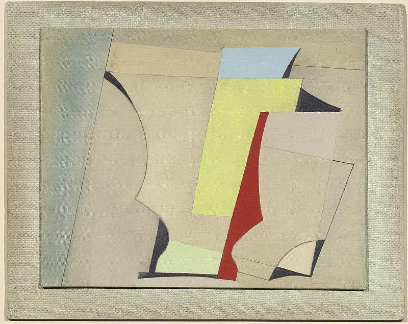 Ben Nicholson May 24 52 28497 20. European art; part 1 (red yellow blue)