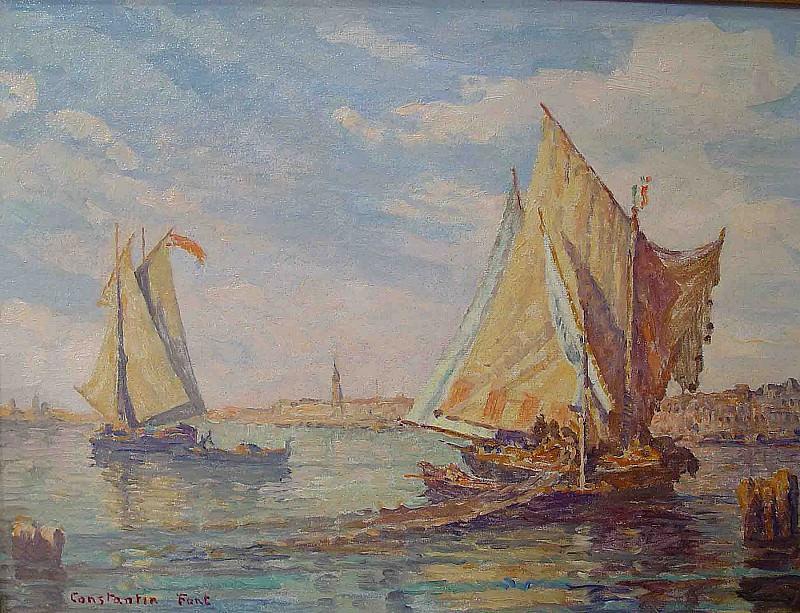 Constantin Font Venice 36914 3306. Европейская живопись; часть 1