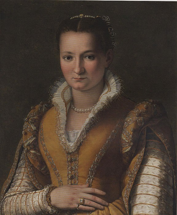 ALESSANDRO ALLORI Portrait of Bianca Capello de Medici 79799 316. European art; part 1