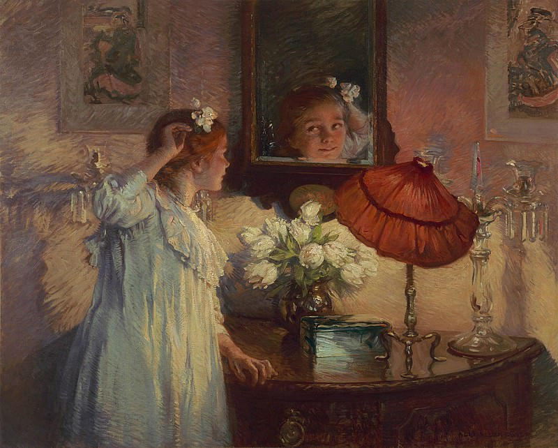 Albert Chevalier Tayler The Mirror 100339 20. European art; part 1