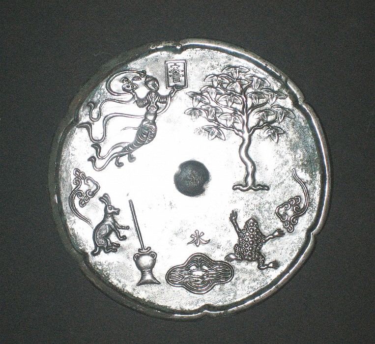 Bronze mirror Tang dynasty 26515 686. European art; part 1