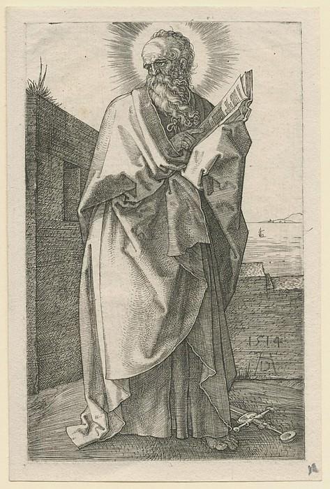 Albrecht DГјrer Der Apostel Paulus – Saint Paul 1514 122373 1124. Европейская живопись; часть 1