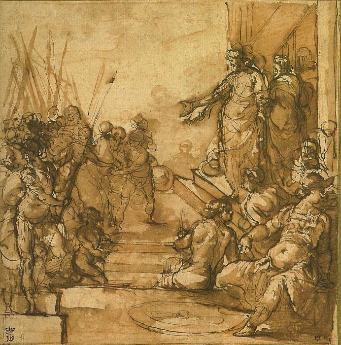 AGOSTINO CIAMPELLI Christ before Pilate 11367 172. European art; part 1