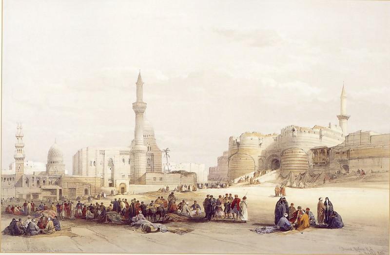David Roberts The Entrance to the Citadel of Cairo 39532 3606. European art; part 1
