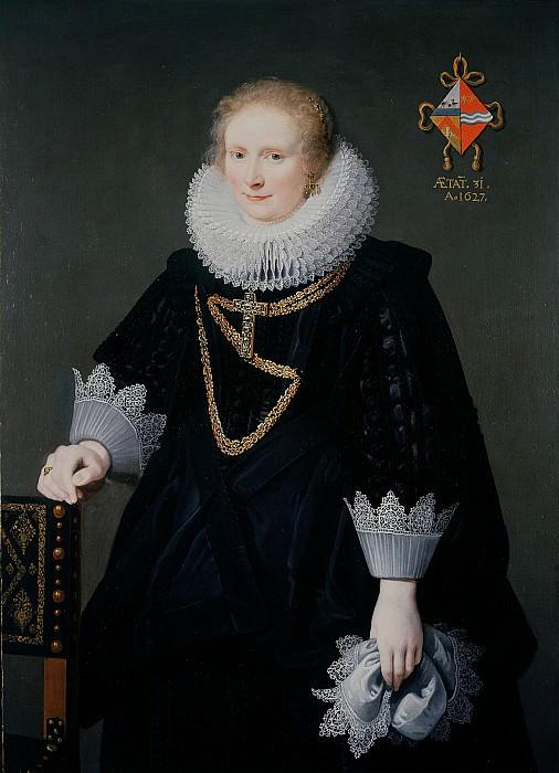 Cornelis de Vos Portrait of an Unknown Lady 71899 321. Европейская живопись; часть 1