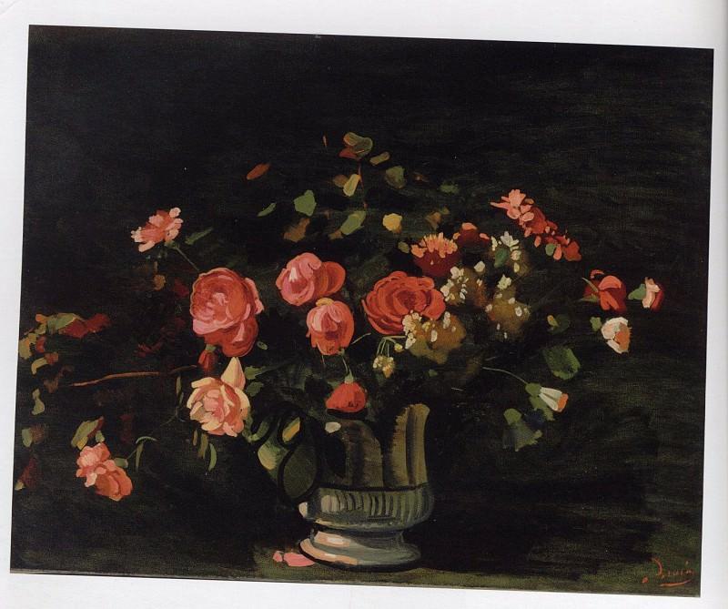 AndrГ© DERAIN Vase de fleurs 40792 1146. Европейская живопись; часть 1