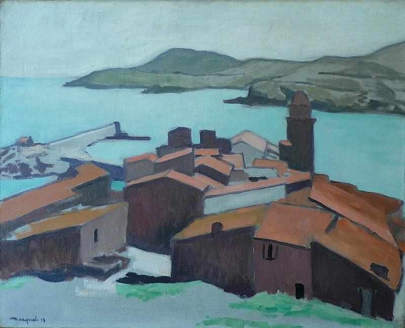 Albert MARQUET Vue de Collioure 37943 3449. European art; part 1