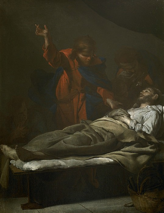 Bernardo Cavallino The Death of Saint Joseph i 27020 203. European art; part 1