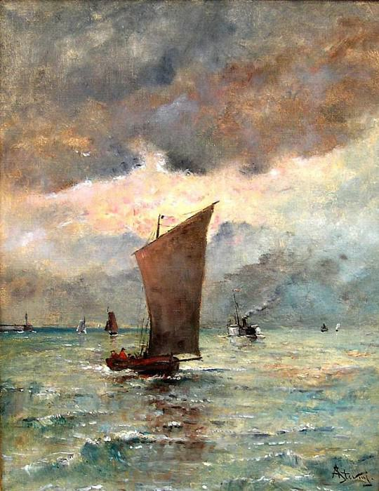 Alfred STEVENS Vue de TrГ©port 122112 617. European art; part 1