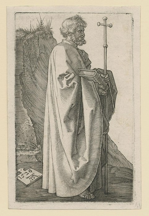 Albrecht DГјrer Der Apostel Philippus – Saint Philip 1523 26 122300 1124. Европейская живопись; часть 1