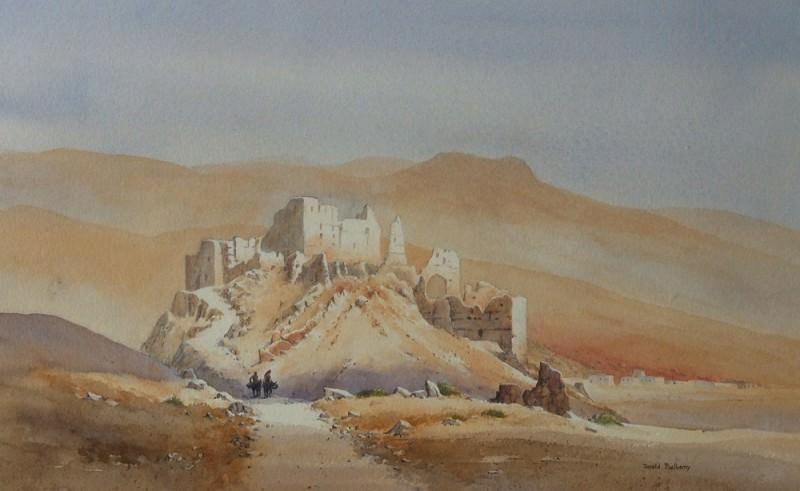 David Bellamy - Kasbah Dades Valley. European art; part 1