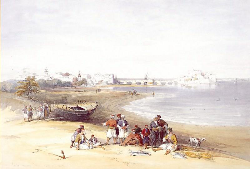 David Roberts Sidon General View 39529 3606. European art; part 1