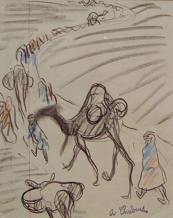 Auguste Chabaud orientalist scene 36909 3306. European art; part 1