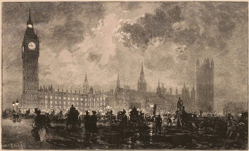 Auguste LepГЁre Parlement Г neuf heures du soir London 26998 1124. European art; part 1