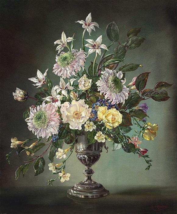 Cecil Kennedy Summer flowers 40229 20. Европейская живопись; часть 1