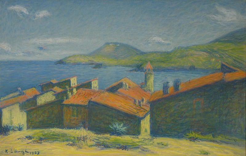 Achille LAUGE Collioure 43119 3449. European art; part 1