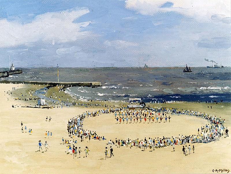 Campbell Mellon Physical Drill on the Sands 12172 2426. Европейская живопись; часть 1