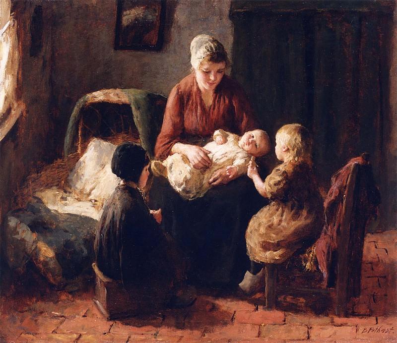 Подаст, Бернард Amusing the Baby 12184 2426. Европейская живопись; часть 1