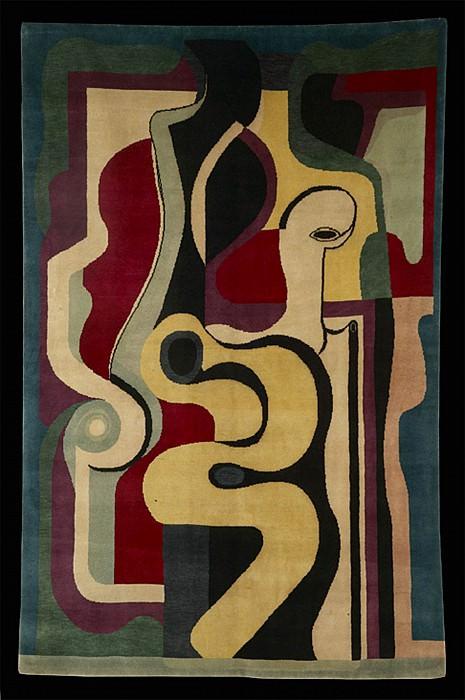Auguste HERBIN Rug nВ° 66. European art; part 1