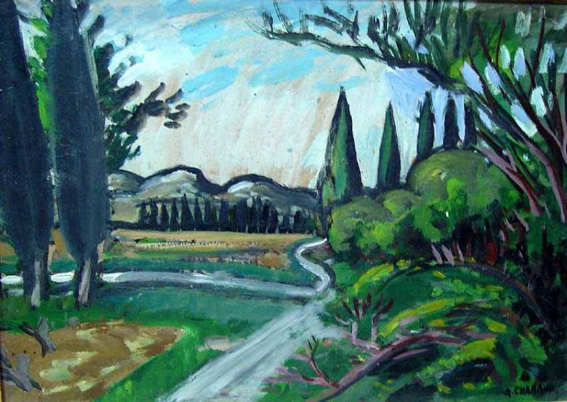 Auguste Chabaud The country lane 41486 3306. European art; part 1