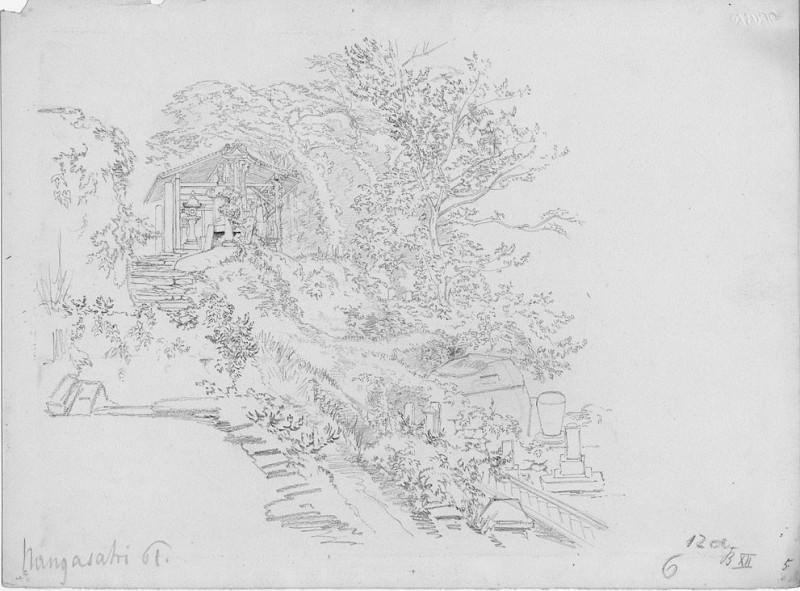 Albert Berg Burial Place Nangasaki ca 1860 120745 1124. European art; part 1