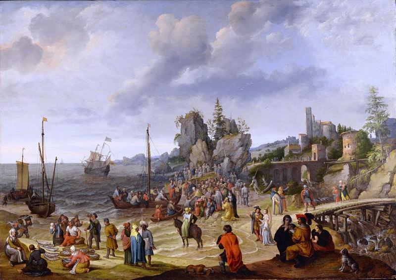ADAM WILLAERTS Miracle on the beach of Gennesaret 90215 184. European art; part 1
