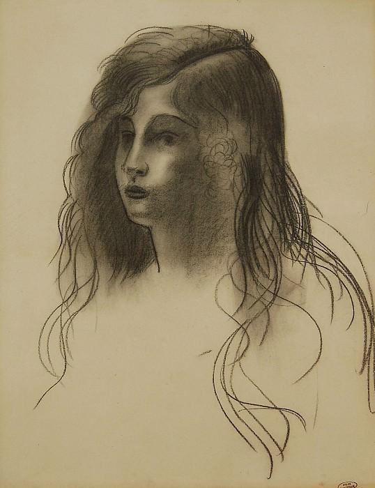 Andre Derain Jeune fille 40131 1184. European art; part 1