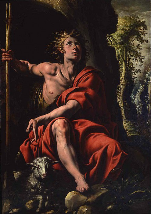 Antonio dEnrico called Tanzio da Varallo Saint John the Baptist in the Desert 16923 203. European art; part 1