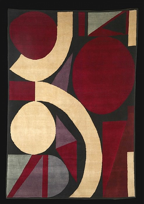 Auguste HERBIN Rug nВ° 65. European art; part 1