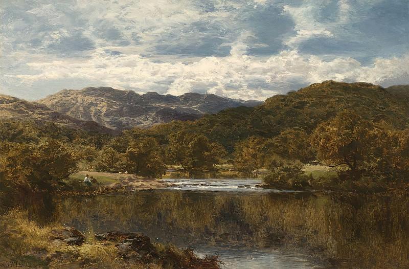 Benjamin Williams Leader On the Llugwy below Capel Curig 99359 20. Европейская живопись; часть 1
