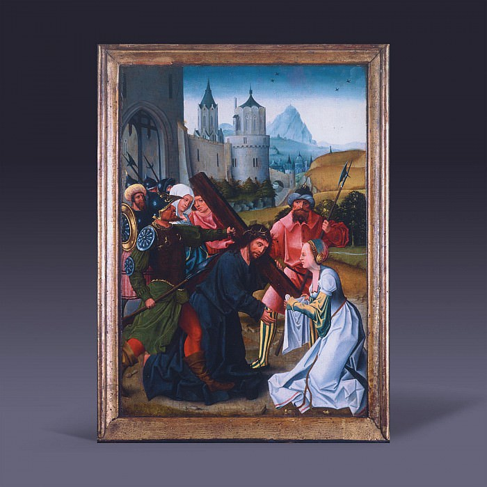 Bearing of the Cross – Christ and Veronica' 26699 605. European art; part 1