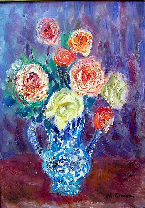 Charles Camoin fowers still life 66579 3306. European art; part 1