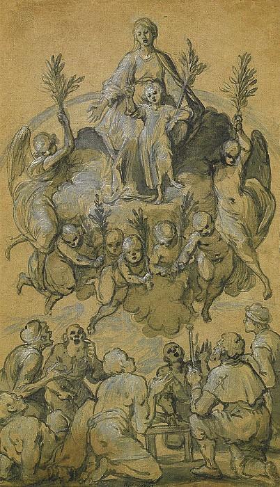 BELISARIO CORENZIO The Assumption of the Virgin 11339 172. European art; part 1