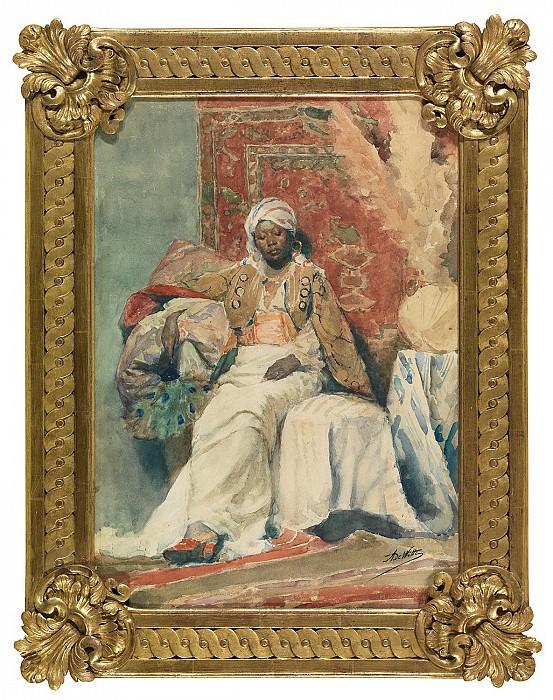 Adrien DE WITTE Mauresque 122540 121. European art; part 1