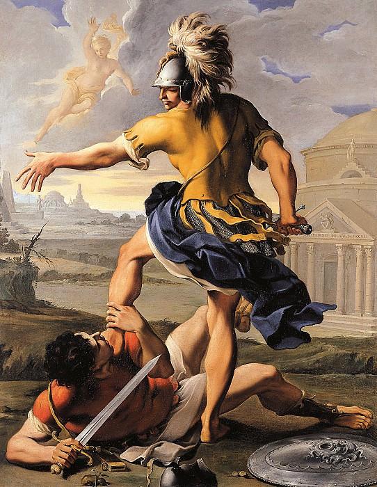 Aureliano Milani The Combat Between Aeneas and Turnus 16957 203. European art; part 1