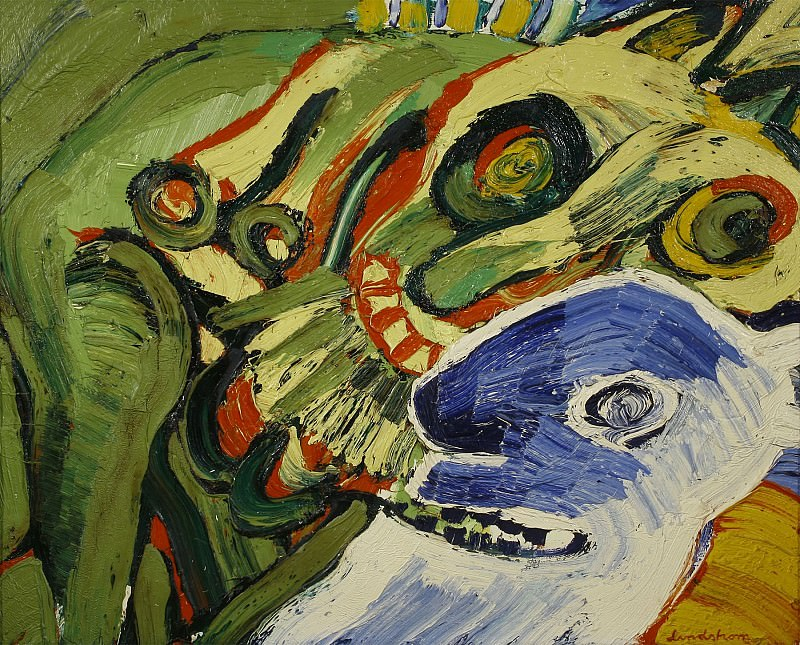 Bengt LINDSTROM Sans Titre 88419 3449. European art; part 1
