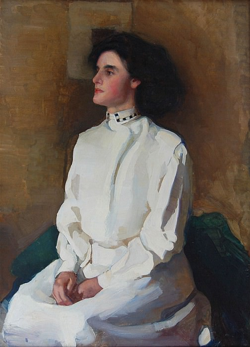 Anon Boston School Portrait of a Lady 30216 1184. European art; part 1