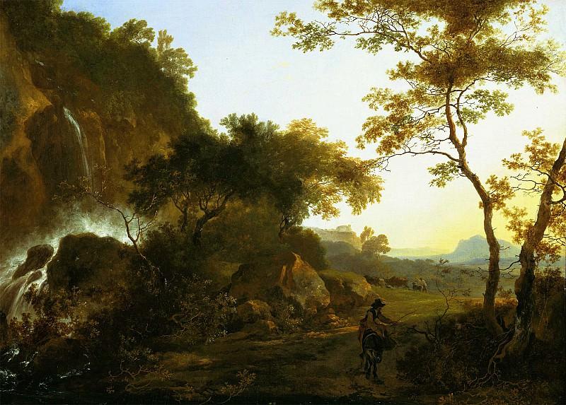 Adam Pynacker Italianate landscape 99799 20. European art; part 1