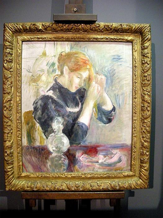 Berthe MORISOT Jeune femme Г sa toilette 49559 1146. Европейская живопись; часть 1