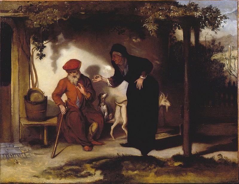 Barent Fabritius Tobit and Anna 27349 276. Европейская живопись; часть 1